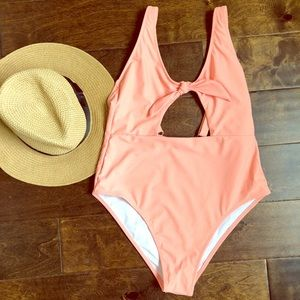 NWT Cut Out One-Piece Swimsuit